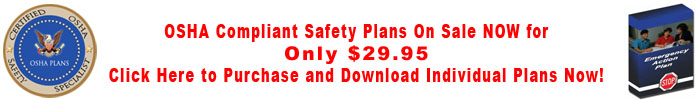 OSHA Plans on Sale NOW!